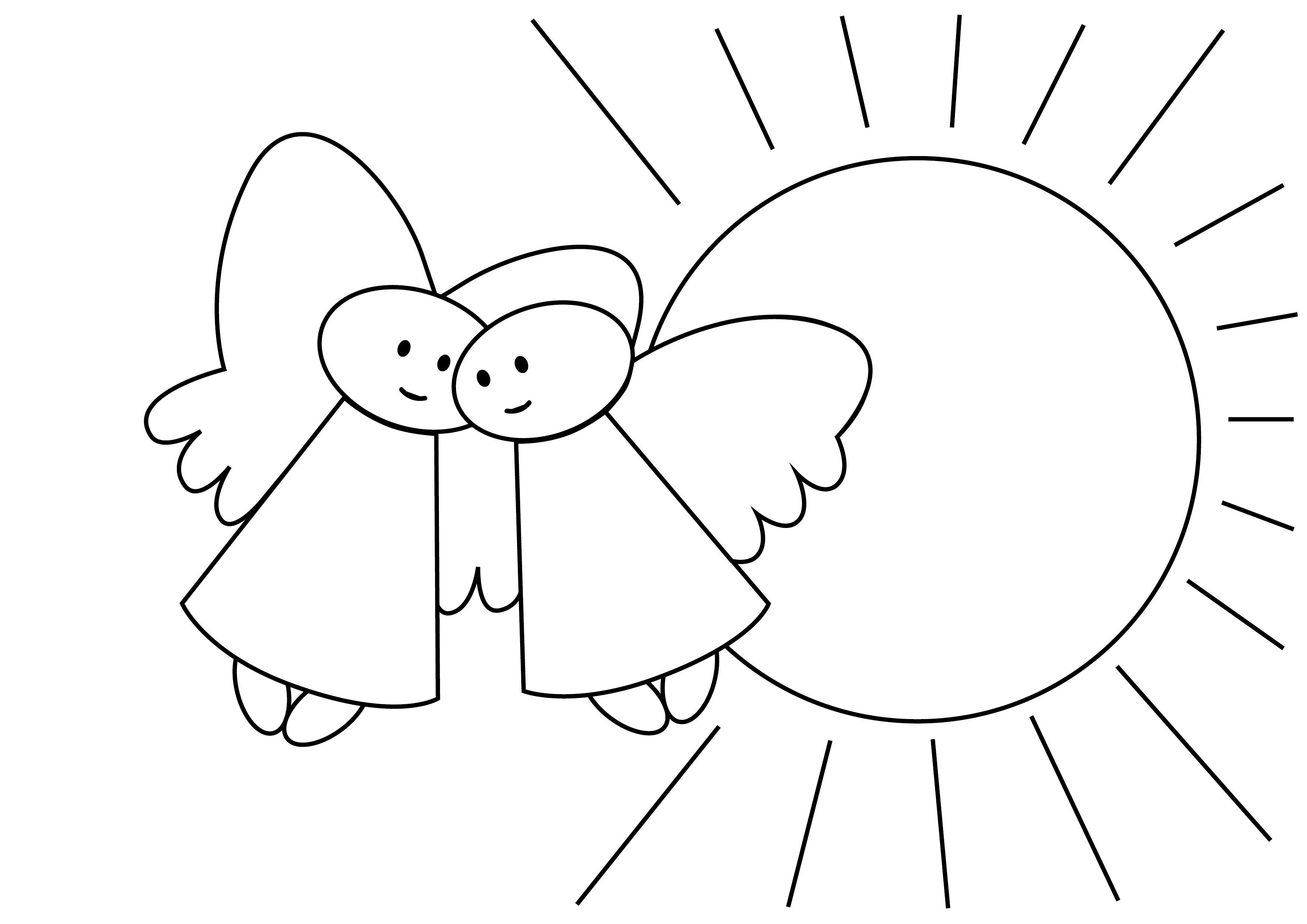 engelen info gt kleurplaten